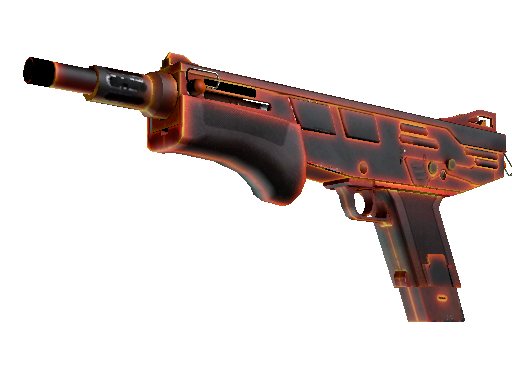 MAG-7(StatTrak™) | 炽热 (破损不堪)StatTrak™ MAG-7 | Heat (Well-Worn)