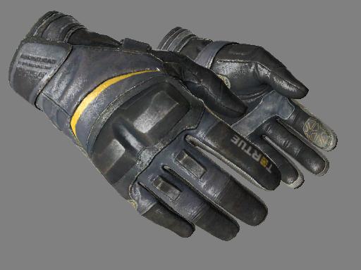 摩托手套(★)   日蚀 (破损不堪)★ Moto Gloves   Eclipse (Well-Worn)