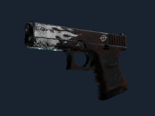 格洛克 18 型 | 锈蚀烈焰 (战痕累累)Glock-18 | Oxide Blaze (Battle-Scarred)