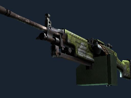 M249(StatTrak™) | 阿兹特克 (略有磨损)StatTrak™ M249 | Aztec (Minimal Wear)