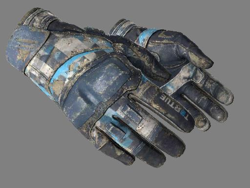 摩托手套(★) | 清凉薄荷 (战痕累累)★ Moto Gloves | Cool Mint (Battle-Scarred)