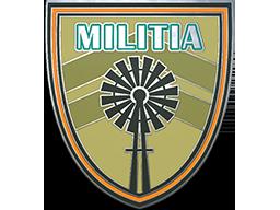 佣兵训练营胸章Militia Pin