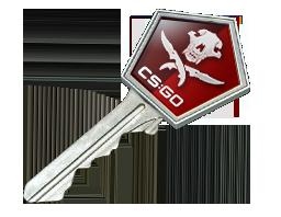 弯曲猎手武器箱钥匙Falchion Case Key