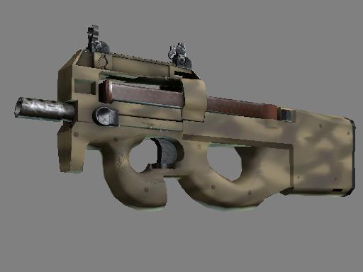P90 | 沙漠涂装 (略有磨损)P90 | Sand Spray (Minimal Wear)