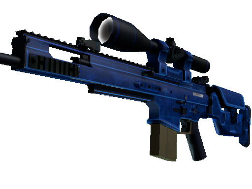 SCAR-20 | 蓝图 (崭新出厂)SCAR-20 | Blueprint (Factory New)