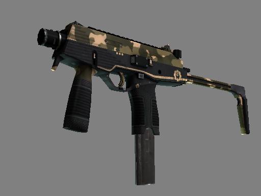 MP9(StatTrak™) | 黑砂 (崭新出厂)StatTrak™ MP9 | Black Sand (Factory New)