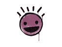 封装的涂鸦 | 笑脸 (酱紫)Sealed Graffiti | Still Happy (Princess Pink)