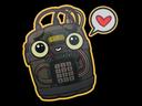 印花 | 友情密码Sticker | Friend Code