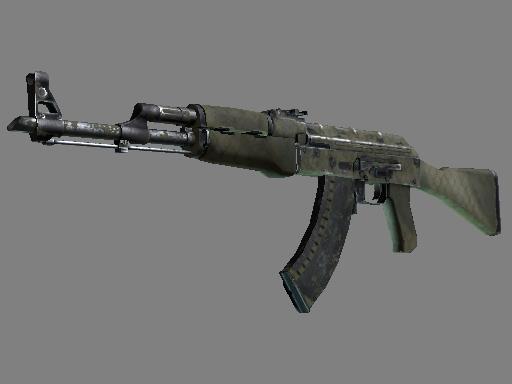AK-47 | 狩猎网格 (战痕累累)AK-47 | Safari Mesh (Battle-Scarred)