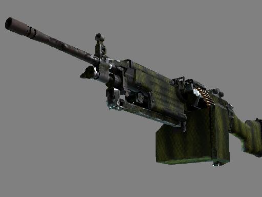 M249(纪念品) | 鳄鱼网格 (久经沙场)Souvenir M249 | Gator Mesh (Field-Tested)