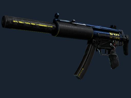 MP5-SD(StatTrak™) | 探员 (战痕累累)StatTrak™ MP5-SD | Agent (Battle-Scarred)