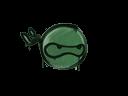 封裝的涂鴉   忍者 (深綠)Sealed Graffiti   Ninja (Jungle Green)