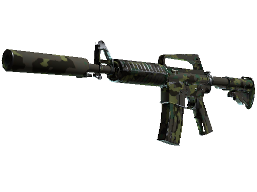 M4A1 消音型 | 北方森林 (久经沙场)M4A1-S | Boreal Forest (Field-Tested)