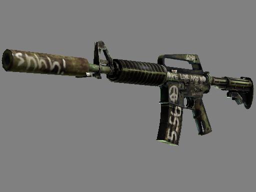 M4A1 消音型 | 闪回 (略有磨损)M4A1-S | Flashback (Minimal Wear)