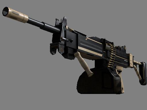 内格夫(StatTrak™)   沙漠精英 (略有磨损)StatTrak™ Negev   Desert-Strike (Minimal Wear)