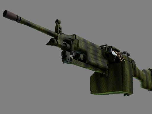 M249 | 鳄鱼网格 (略有磨损)M249 | Gator Mesh (Minimal Wear)