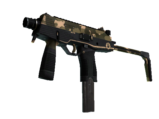 MP9 | 黑砂 (略有磨损)MP9 | Black Sand (Minimal Wear)