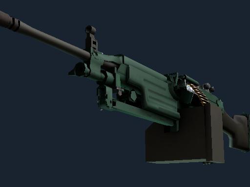 M249 | 狂野丛林 (崭新出厂)M249 | Jungle (Factory New)