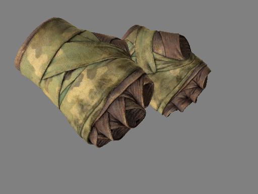 裹手(★) | 森林色調 (戰痕累累)★ Hand Wraps | Arboreal (Battle-Scarred)