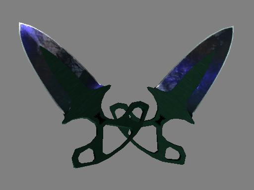 暗影双匕(★) | 多普勒 (崭新出厂)★ Shadow Daggers | Doppler (Factory New)