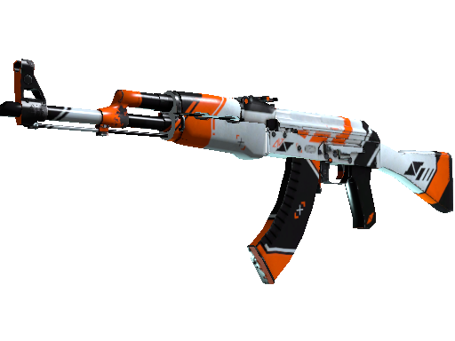 AK-47 | 二西莫夫 (破损不堪)AK-47 | Asiimov (Well-Worn)