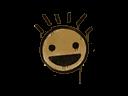 封装的涂鸦 | 笑脸 (棕褐)Sealed Graffiti | Still Happy (Desert Amber)