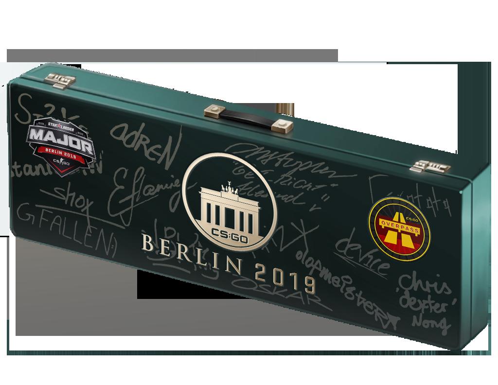 2019年柏林锦标赛死亡游乐园纪念包Berlin 2019 Overpass Souvenir Package