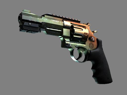 R8 左轮手枪   渐变琥珀 (久经沙场)R8 Revolver   Amber Fade (Field-Tested)
