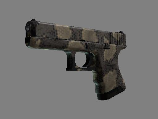 格洛克 18 型   夺命撼响 (久经沙场)Glock-18   Death Rattle (Field-Tested)