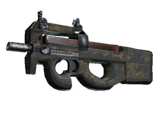 P90 | 沙漠涂装 (战痕累累)P90 | Sand Spray (Battle-Scarred)