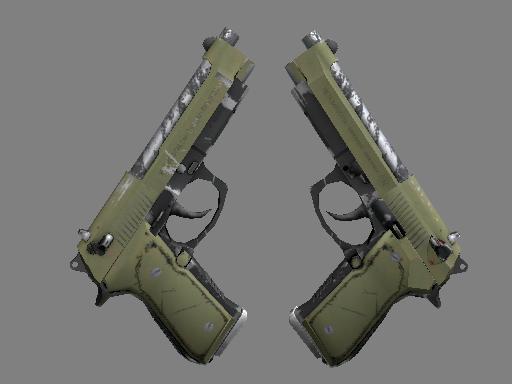 双持贝瑞塔(纪念品) | 殖民侵略者 (久经沙场)Souvenir Dual Berettas | Colony (Field-Tested)