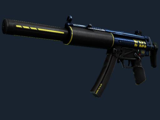MP5-SD(StatTrak™) | 探员 (久经沙场)StatTrak™ MP5-SD | Agent (Field-Tested)
