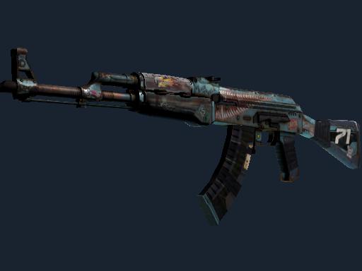 AK-47   复古浪潮 (略有磨损)AK-47   Rat Rod (Minimal Wear)