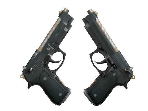 雙持貝瑞塔 | 雇傭兵 (久經沙場)Dual Berettas | Contractor (Field-Tested)
