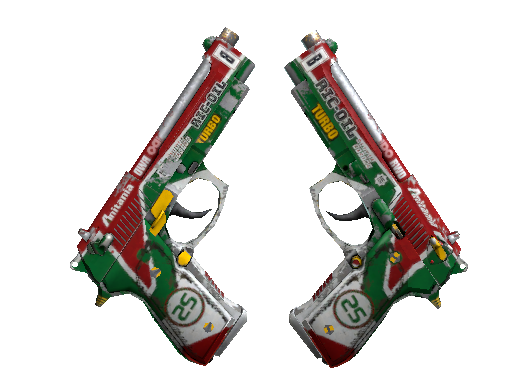 双持贝瑞塔 | 双涡轮 (战痕累累)Dual Berettas | Twin Turbo (Battle-Scarred)