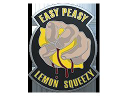 柠檬汁胸章Easy Peasy Pin
