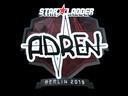 印花 | AdreN(闪亮)| 2019年柏林锦标赛Sticker | AdreN (Foil) | Berlin 2019