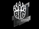 印花   BIG   2018年波士顿锦标赛Sticker   BIG   Boston 2018