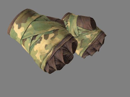 裹手(★) | 森林色调 (破损不堪)★ Hand Wraps | Arboreal (Well-Worn)