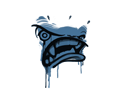 封装的涂鸦 | 盛怒 (黛蓝)Sealed Graffiti | Rage Mode (Monarch Blue)