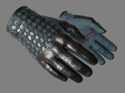 驾驶手套(★) | 月色织物 (略有磨损)★ Driver Gloves | Lunar Weave (Minimal Wear)