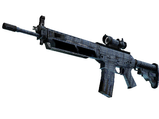 SG 553 | 浪花穿孔 (久經沙場)SG 553 | Waves Perforated (Field-Tested)