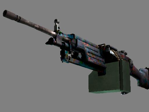 M249(StatTrak™) | 岩浆 (久经沙场)StatTrak™ M249 | Magma (Field-Tested)