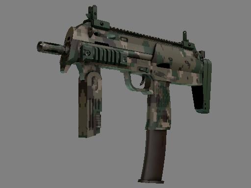 MP7 | 森林 DDPAT (略有磨损)
