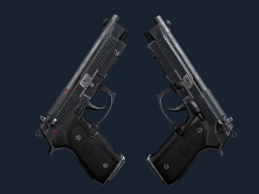 双持贝瑞塔   1.6精英 (久经沙场)Dual Berettas   Elite 1.6 (Field-Tested)
