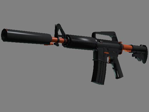 M4A1 消音型 | 氮化处理 (略有磨损)M4A1-S | Nitro (Minimal Wear)