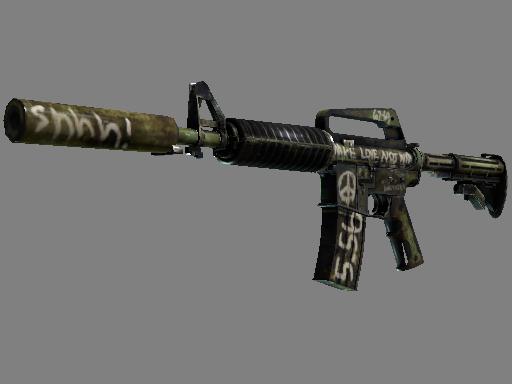 M4A1 消音型   闪回 (破损不堪)M4A1-S   Flashback (Well-Worn)