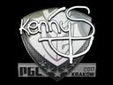 印花 | kennyS | 2017年克拉科夫锦标赛Sticker | kennyS | Krakow 2017