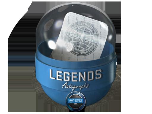 2019年卡托维兹锦标赛传奇亲笔签名胶囊Katowice 2019 Legends Autograph Capsule