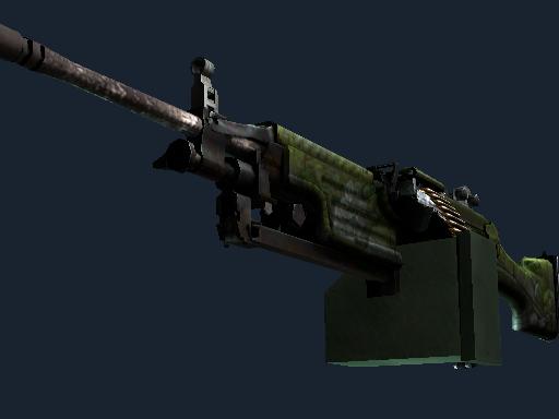 M249(StatTrak™) | 阿兹特克 (战痕累累)StatTrak™ M249 | Aztec (Battle-Scarred)